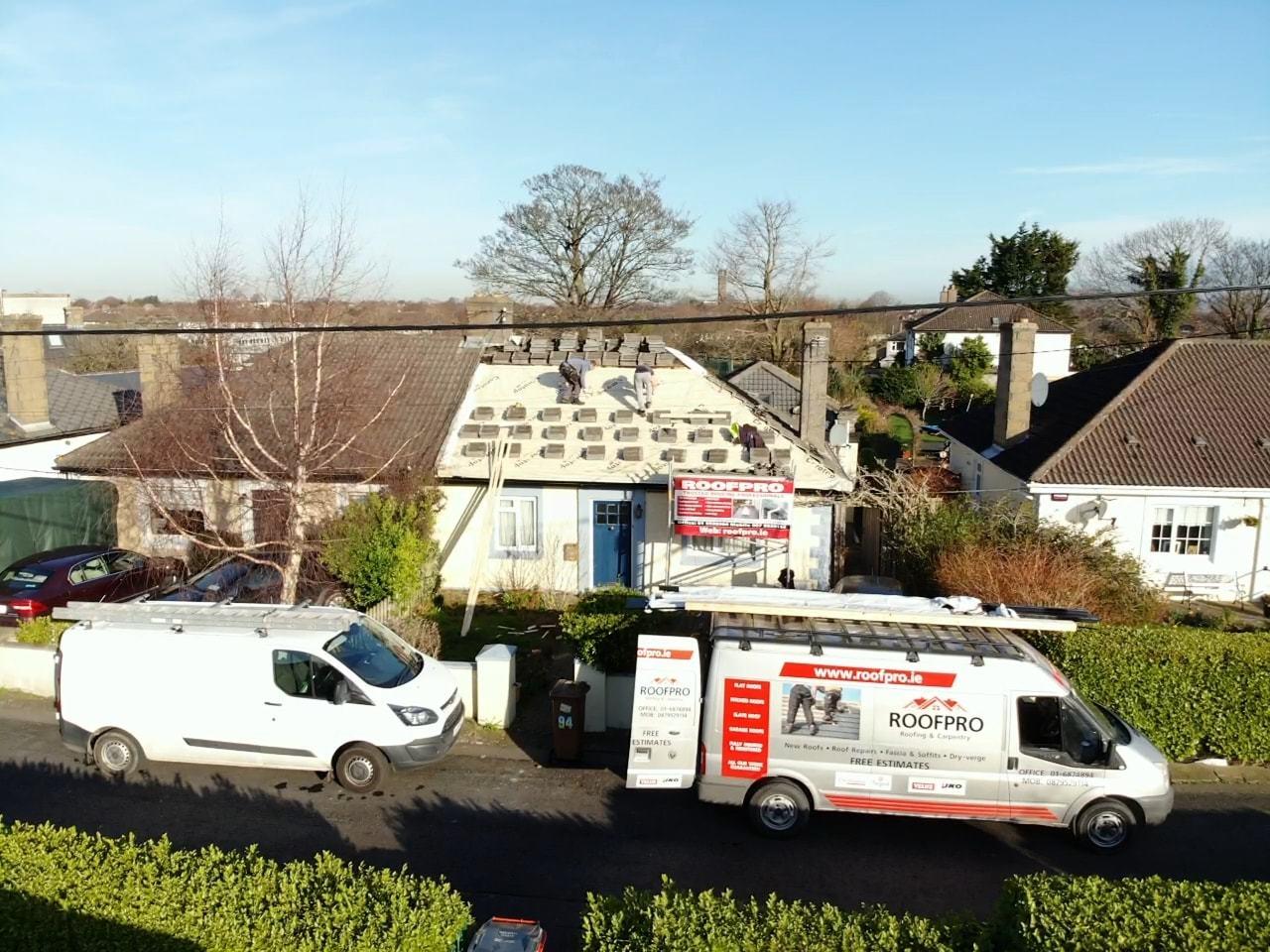 New roof installations Dublin