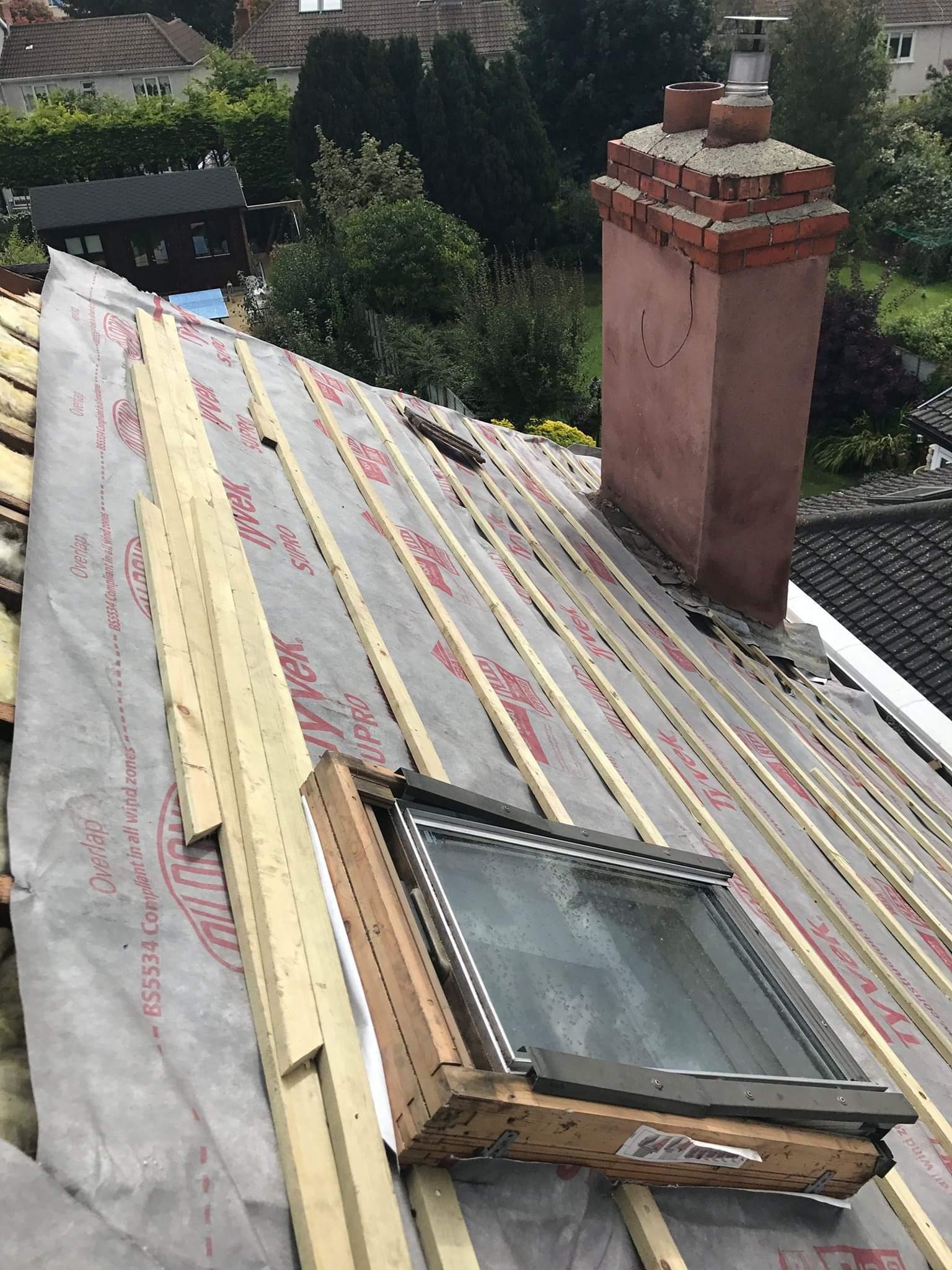 Roof repairs Sandyford